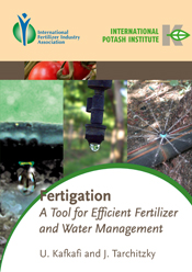Fertigation. A Tool for Efficient Fertilizer and Water Manag