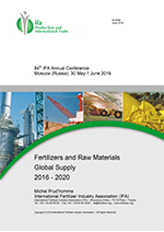 Fertilizers and Raw Materials Global Supply 2016–2020