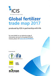 Global Fertilizer Trade Map 2017