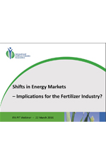 Shifts in Energy Markets - Implications for the Fertilizer I